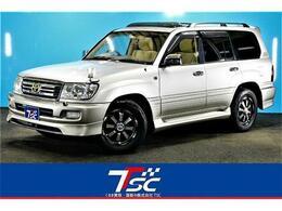 トヨタ ランドクルーザー100 4.7 VXリミテッド Gセレクション 4WD 純正ナビサンルーフタイベル交換済8人乗