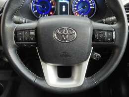 ステアリングにステレオ等の操作スイッチが有り 運転中でも操作しやすいです