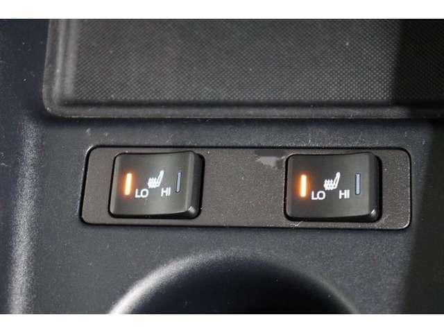 シートが暖かいとより座り心地のよいシートヒーター。