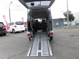 三菱 タウンボックス 4WD ハーティーラン 車椅子1基 スロープ