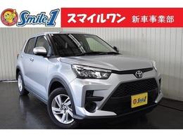 トヨタ ライズ 1.0 G 新車/装備10点付 7型ナビ ドラレコ