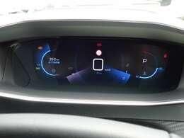 3Dデジタルヘッドアップインストルメントパネル。ドライブ中の情報は、グラフィカルな3Dデジタルで表示します。【プジョー大府:0562-44-0381】