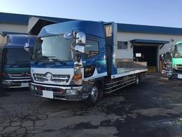 日野自動車 レンジャープロ 中古 ハイグレード ハイルーフ 増t ワイド セーフティーローダー