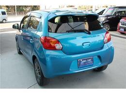 お買得車ミラージュ入荷しました・きれいなミディアムブルーマイカです・詳細はHP(http://auto-panther.com/)をご覧下さい!