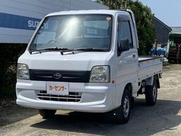 スバル サンバートラック 660 TB 三方開 4WD 5速MT車・A/C・PS・運転席AB・取説