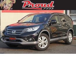 ホンダ CR-V 2.4 24G 4WD 1オ- ナ黒革 SR HDD Bカメ ETC 車検2年