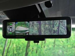 インテリジェントルームミラーを装備!!ルームミラーに後方カメラで映した映像が映ります♪後方確認が鮮明でき、安全運転に役立ちます!!