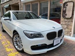 BMW 7シリーズ 740i Mスポーツパッケージ 左H 1オーナー SR 純正OP19AW 全席シートH
