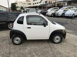 省スペースで扱いやすい車両です!