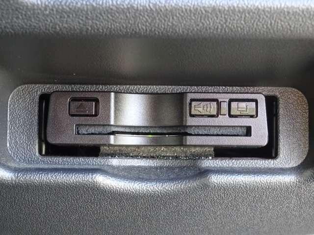 社外ETC車載器が装備されています。