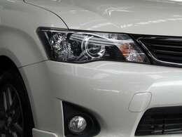 上級グレード『WxB』特別装備 HIDヘッドランプ 明るくて夜の暗い道も安心安全です。相手の車両にもアピールできるので更に安全!