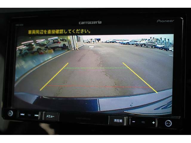 【バックカメラ】リバース連動のバックカメラを装備!