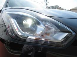 【ヘッドライト】LEDヘッドライトが夜間も明るく照らします★