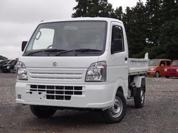 スズキ キャリイ 660 リフトダンプ 3方開 4WD 5速マニュアル 届出済未使用車
