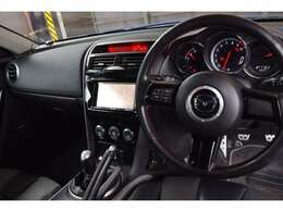 DSC スーパーLSD HIDヘッドライト レッドステッチ入りステアリング&シフトノブ&サイドブレーキ
