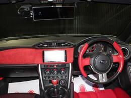 赤と黒のコンビネーション 内装色で人気あります。