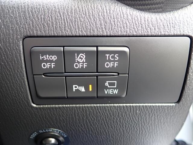 各種安全装置も付いております!VIEWボタンで簡単に自車の位置を確認できます!