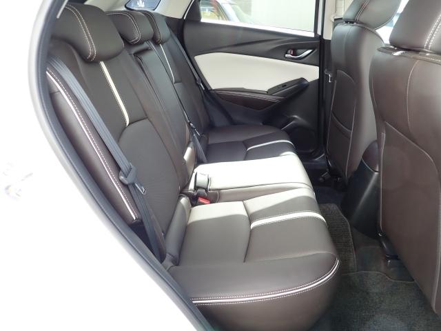 全席ナッパレザーを使用しており、とても高級感のある車内になっております!