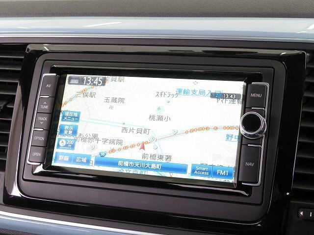 Volkswagen純正ナビゲーションシステム:自然な対話で目的地を設定できる音声認識技術に対応したAVナビゲーションシステム。