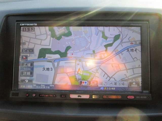 パイオニア製HDDナビ(AVIC-HRZ900) フルセグ DVD再生機能付き