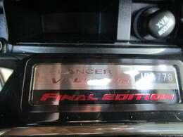 日本国内1000台限定車 シリアルナンバー 「JP0778」