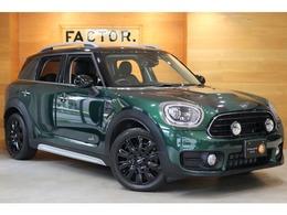 ミニ ミニクロスオーバー ノーフォーク エディション 4WD 1オーナー レザレット ACC 軽減B 新車保証