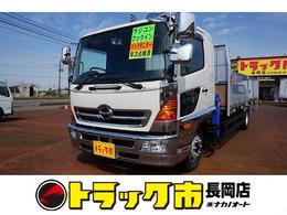 日野自動車 レンジャー 7.6t 増トン ワイドベッド付 アルミアオリ タダノ5段クレーン付