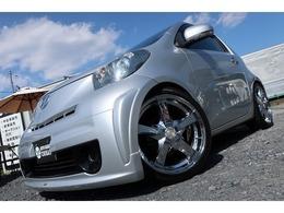 トヨタ iQ 1.0 100G モデリスタエアロ ロクサーニ18in