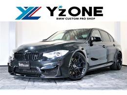 BMW M3セダン M DCT ドライブロジック コンペティションパッケージ装着車 BMW M PERFORMANCE