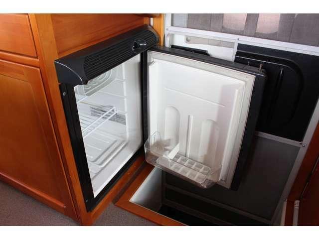 DC40L冷蔵庫装備!