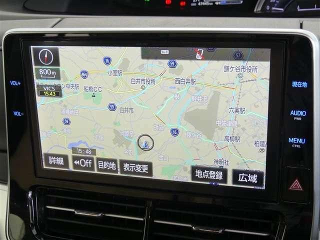 画面も大きなトヨタ純正 NSZN-W66T ナビゲーション♪コネクテッド機能付き!