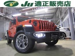ジープ ラングラー アンリミテッド サハラ ローンチ エディション 4WD ワンオーナー 禁煙車 純正ナビ