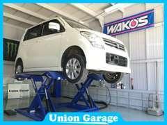 ◆自社整備工場も完備しています。仕入れた車両はここで納得のいくまでチェックを致します。
