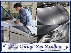 コーティングやクリーニング・シート洗浄等のオーダーも承っております。施工実績多数。車の深い艶・輝きを体験してみて下さい!