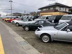 国産オープンカーの在庫多数あります!
