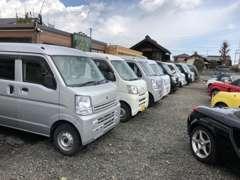 働く軽自動車も掲載以外にも在庫有り!軽の箱バン常時15台以上在庫してます。