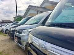 在庫車両はお値打ち価格!仕上げにも拘っており、安いのに綺麗と言って頂けるように努力しております!