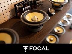 フランス・FOCAL社製スピーカーを常時展示しています。正規輸入代理店直営店のため、試聴用デモカーも常時ご用意しております。
