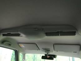 【サーキュレーター付】天井に着いた送風機で車内の空気をグルグル循環します!これで夏は冷房、冬は暖房の効きを素早くして快適空間が速攻!