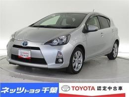 トヨタ アクア 1.5 G ブラックソフトレザーセレクション /タイヤ4本新品・SDナビ・フルセグ・1オナ
