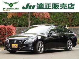 トヨタ クラウン ハイブリッド 2.5 RS アドバンス セーフティーセンス・ナビ・TV・半革