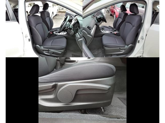 すわり心地の良い専用シート♪禁煙車なので気になるシートも焦げ穴・破れ・シミ・ヘタリ等も無く程度良好◎運転席はシートリフター付でシートの高さ調整も出来ます☆