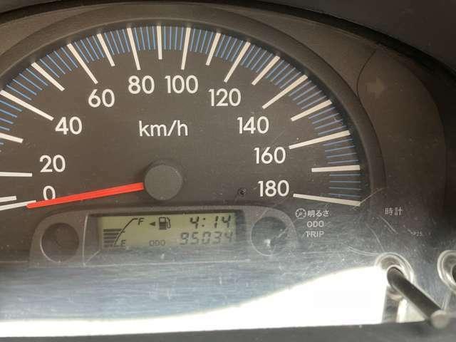 走行距離/9.5万キロ♪まだまだバリバリ走ります。
