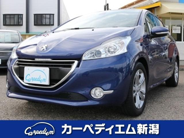 カラドブルーがオシャレなプジョー208☆走行1万キロ台!!
