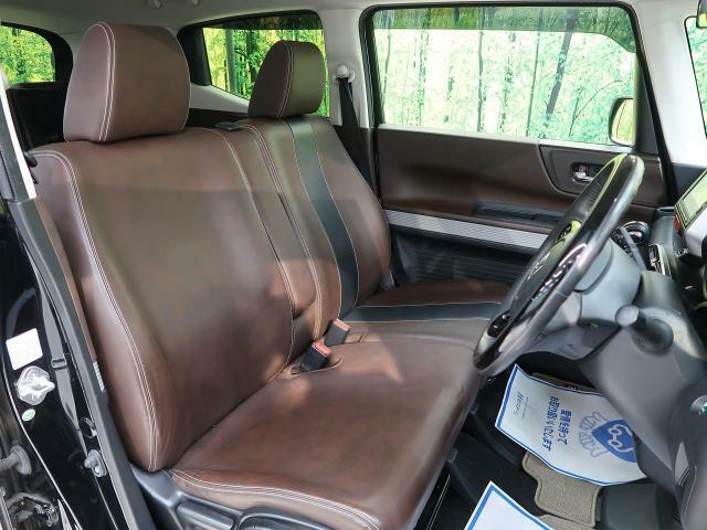 高級感たっぷりの「ブラウンレザー」!!車内の高級感を与えてくれるので、優雅にドライブをお楽しみいただけます♪座り心地もバッチリです☆是非一度ご体感下さいませ!!