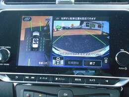 プロパイロットパーキング、簡単操作で駐車完了まで、ハンドル、アクセル、ブレーキ、シフト、さらにパーキングブレーキ操作までドライバーをアシストしてくれます。