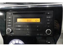 CDオーディオ装備なので、お好きなBGMをかけることもできます。