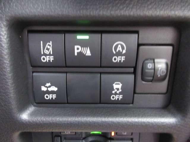 充実の安全装備!SUZUKI Safety Support付きで、安全・安心の運転を!