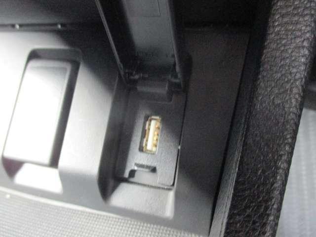 USBも挿入できます!音楽再生も可能ですよ!