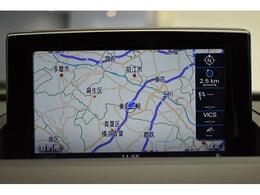 ●MMIナビゲーション『高解像度カラーディスプレイに、Bluetooth(R)接続によるハンズフリー通話機能、音楽再生機能を搭載しています。』